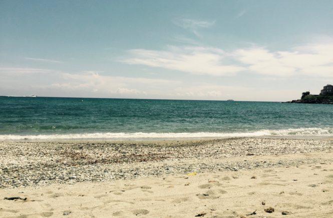 Bild eines Strandes
