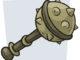 Comic-Zeichnung einer Holzkeule